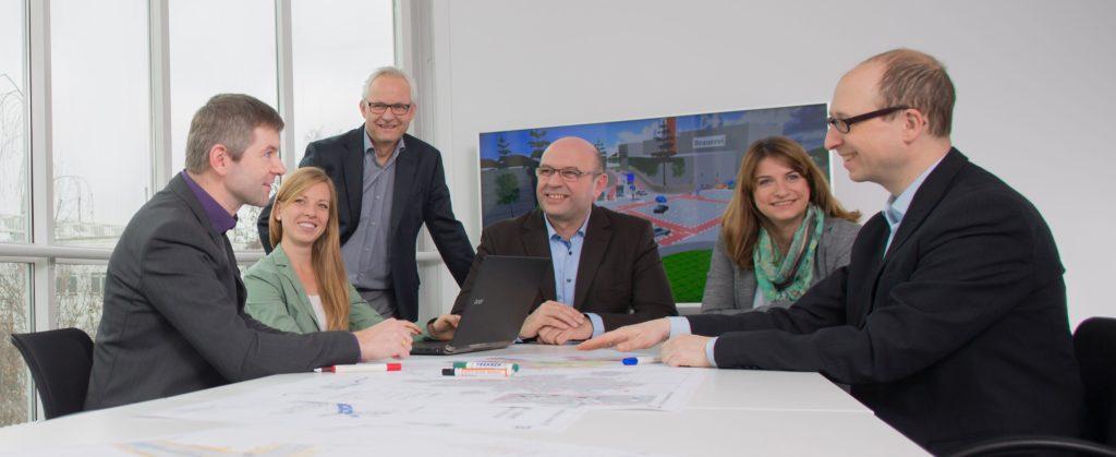 Mitarbeiter des Büro R+T Verkehrsplanung GmbH